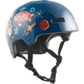 TSG Nipper Maxi Graphic Design Helmet Kinder turbo cosmic